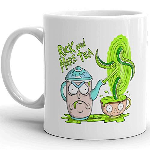 N\A Pun Pantry - Taza de té Rick & More, Regalo de Rick y Morty, Taza de café novedosa, Taza Divertida, Taza Nerdy, Taza Punny, Taza Linda, Taza Pickle Rick