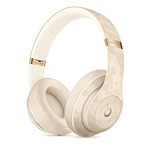 Beats Studio3 Wireless Noise Cancelling Over-Ear Headphones - Apple W1 Headphone Chip, Class 1 Bluetooth, Active Noise Cancelling, 22 Hours of Listening Time - Sand Dune