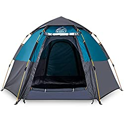 Best Tent for Heavy Rain and Wind during Bad Weather