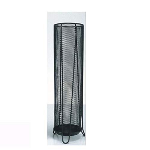 WXQIANG Hierro paragüero paraguas de malla del cubo puede acomodar Bandeja de almacenamiento 5-7 Paraguas largo también puede ser colocado Trekking caña de pescar de fondo Tres Plantilla ortop