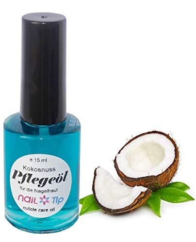 Nagelpflegeöl Kokosnuss | Farbe: Blau | flüssig | 15 ml | Kokosduft | Cuticle Oil