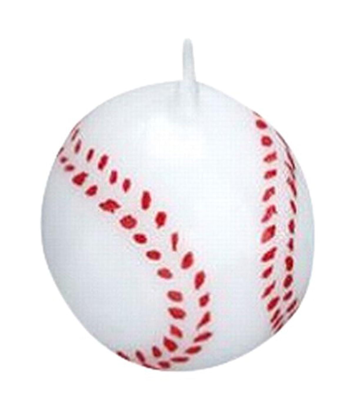 実験室同情硬いベースボール3個入り キャンドル 10個セット 55220040