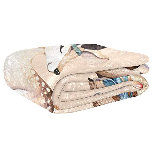 Weiche warme Decke für Bett, Couch, Sofa, Picknick, Camping, Strand