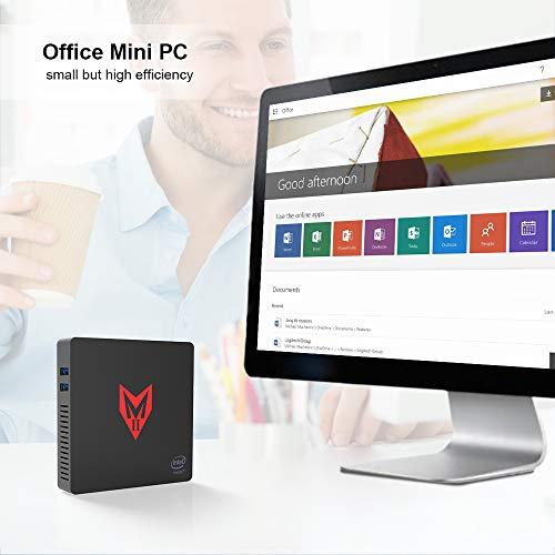 MII-V Mini PC Desktop Ordenador License Windows 10 Multimedia ...
