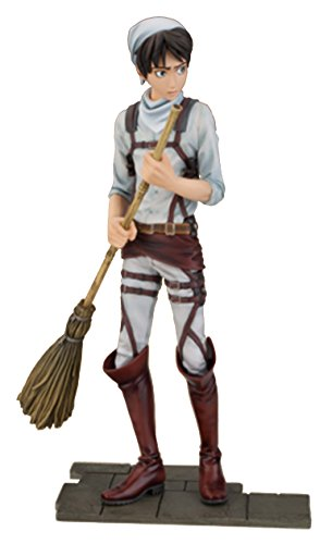Attack on Titan Cleaning Eren Jaeger PVC Figura