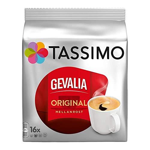 Tassimo Gevalia Original, Kaffee, Arabica, Kaffeekapsel, gemahlener Röstkaffee , 16 T-Discs