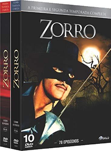 Zorro 1ª e 2ª Temporada Completa 10 Discos