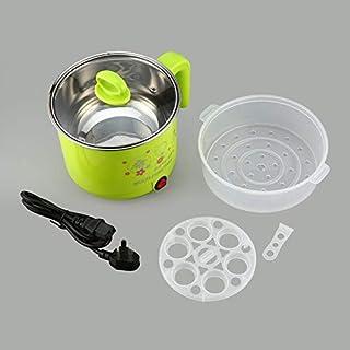 Cuisinière électrique en acier inoxydable de 1,8 L avec cuiseur à vapeur pour marmite à riz Cloverclover