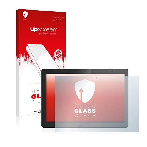 upscreen Hybrid Glass Screen Protector compatible with Lenovo Tab M10 TB-X505L - 9H Glass Protection