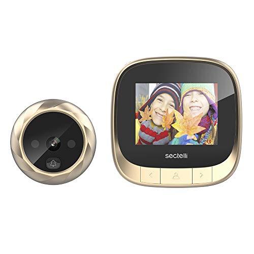 Decdeal Digital Door Viewer Camera Elektronischer Türspion mit Nachtsicht Aufzeichnung für Familien