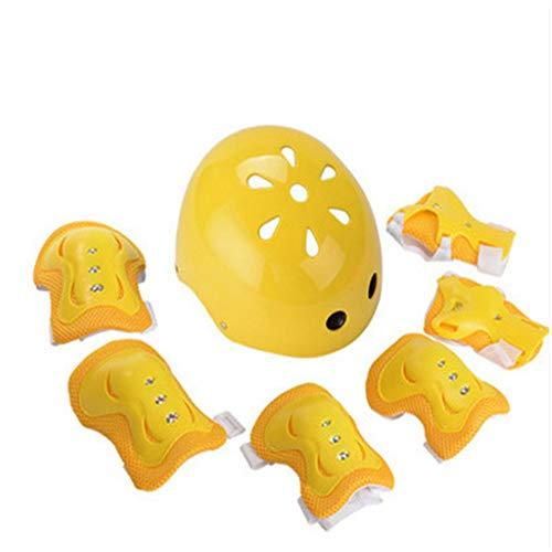 Conjunto de equipo de protección Rodillo de espesar niños patinaje Equipo de...
