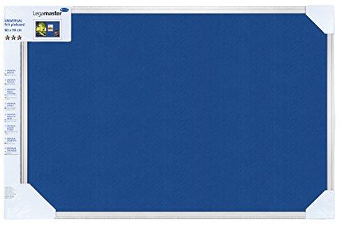 Legamaster 7-141843 Universal Pinboard Textil, 90 x 60 cm, blau