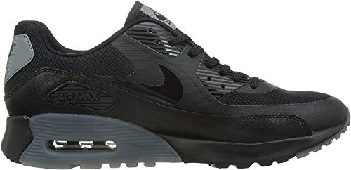 Nike Damen W Air Max 90 Ultra Essential High-top, Nero (Black/Black-cool Grey-pr Pltnm) (Grigio), 36 EU