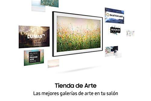 Samsung QLED 4K 2020 50LS03T Smart-TV, 127 cm (50 Zoll), 4K UHD, HDR 10+, Intelligenz, Multi-View, Ambient Mode, One Remote Control, Wandhalterung Nicht enthalten, mit integriertem Alexa
