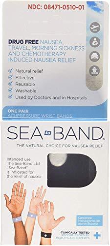 Sea-band Adult Wristband 2 Pairs (6…
