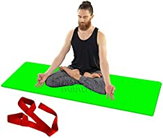 Fitness Mantra® Yoga Mat for Gym Workout and Yoga Exercise with 6MM Thickness, Anti-Slip Yoga Mat for Men & Women...