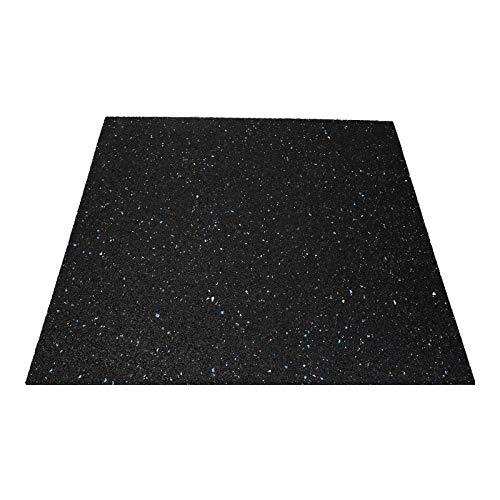 LUTH Premium Professionele onderdelen anti-vibratiemat geluidsisolerende mat rubberen mat wasmachine 60x60x2 universeel inzetbaar