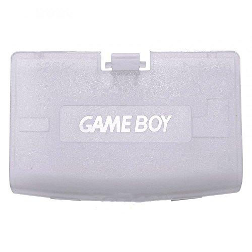 Cover per porta posteriore della batteria per Game Boy Advance GBA sostituzione trasparente