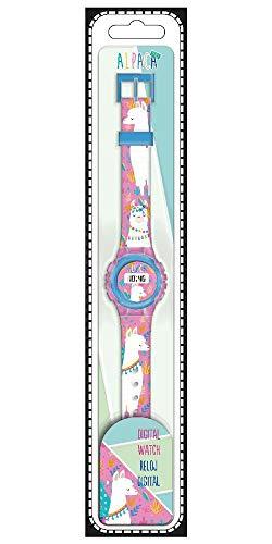 Desconocido Kids Licensing KL10098 Montre numérique Alpaga Multicolore (1)