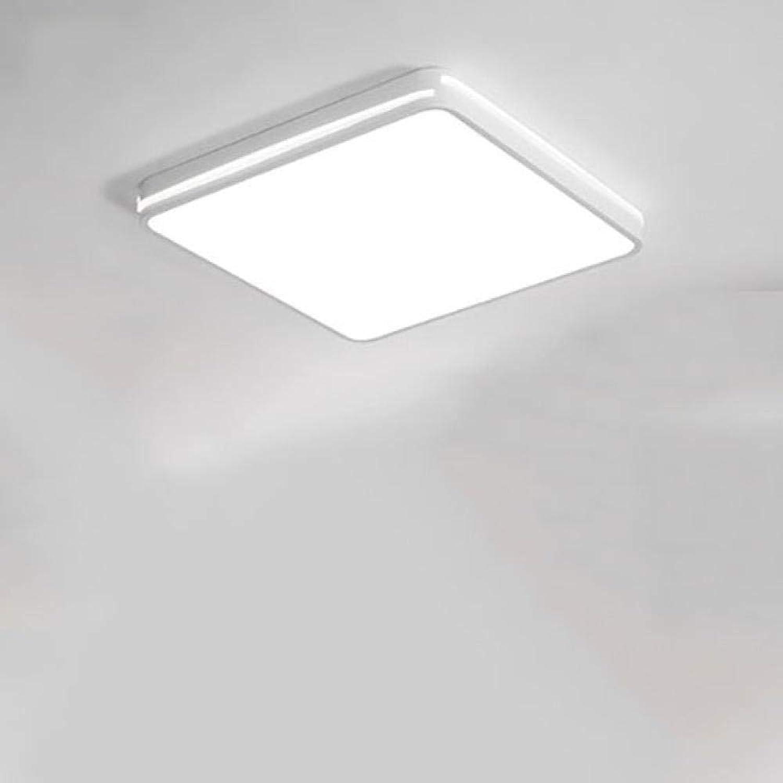 JIUMENG LED deckenleuchte Wasserfest ideal für Wohnzimmer Schlafzimmer Badezimmer Kinderzimmer Küche Büro Flur Warmwei Deckenleuchte,Deckenlampe,Deckenstrahler 50W