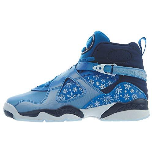 Nike Air Jordan 8 Retro Big Kid's Shoe Cobalt Blaze/Blue/Void/White 305368-400 (6 M US)