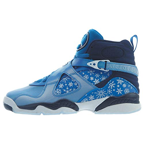 Nike Air Jordan 8 Retro Big Kid's Shoe Cobalt Blaze/Blue/Void/White 305368-400 (6.5 M US)