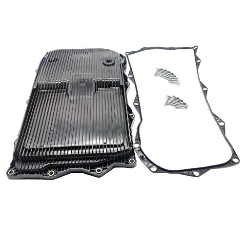 Ensun 68233701AA Automatic Transmission Oil Pan with Drain plug, Gasket and Bolts