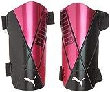 PUMA ftblNXT Team Strap Espinillera Futbol, Unisex-Adult, Luminous Pink Black, L