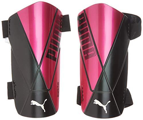 PUMA ftblNXT Team Strap Espinillera Futbol, Unisex-Adult, Luminous Pink Black, S