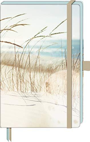 Brunnen 105508778 Notizbuch Kompagnon Beach, Hardcover, 12.5 x 19.5 cm, liniert, 192 Seiten, 1 Stück