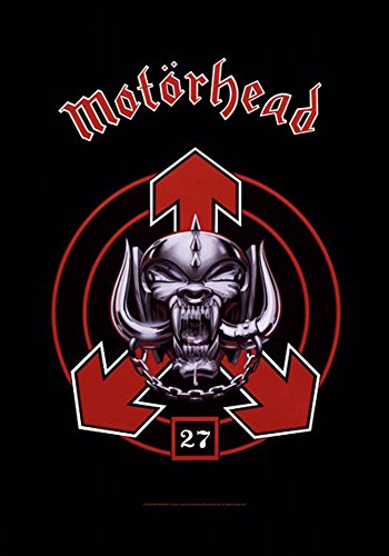 empireposter Motörhead - 27 - Posterflaggen Fahne - Größe 75x110 cm