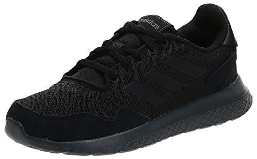 Adidas Archivo, Zapatillas de Trail Running Hombre, Negro (Negbás/Negbás/Gricin), 42 EU