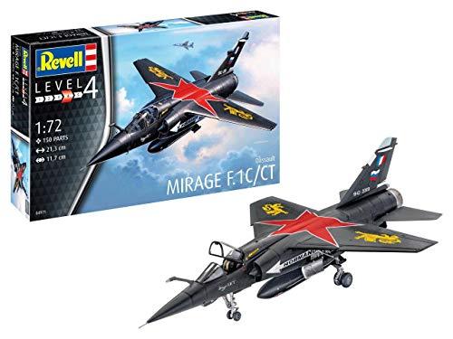 ドイツレベル 1/72 フランス空軍 ミラージュ F.1C プラモデル 04971