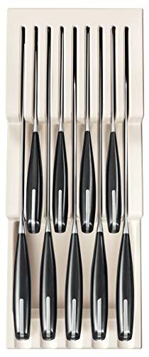 Tescoma FlexiSpace Porta Coltelli 370 x 148 mm, per 9 Coltelli, Plastica