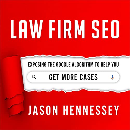Law Firm SEO Audiobook By Jason Hennessey cover art