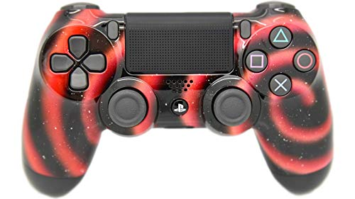 Hand Airbrushed Fade Playstation 4 Custom Controller (Solar Flare)