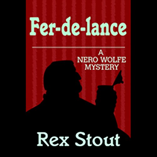 Fer-De-Lance audiobook cover art