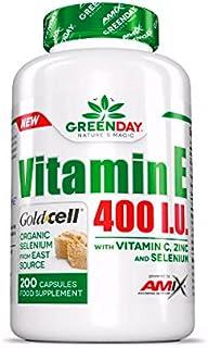 AMIX GreenDay Vitamin E 400 I.U. - 200 caps.