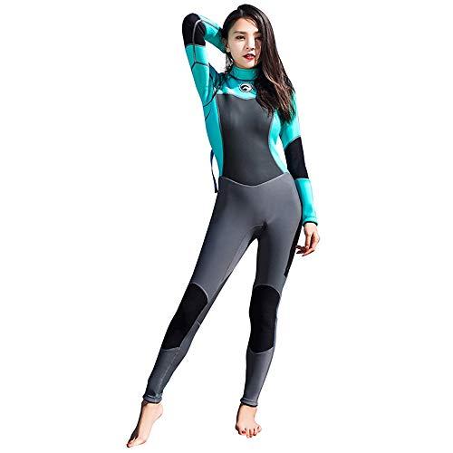 GDL 1.5 MM Tuta Subacquea Femmina, congiunta Meduse Inverno Nuoto Caldo Surf Abbigliamento, Snorkeling Costumi da Bagno,XXL
