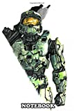Notebook: Master Chief Design Just For Gamers , Journal for Writing, College Ruled Size 6' x 9', 110 Pages