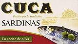 Cuca Sardinas en Aceite de Oliva, 120g
