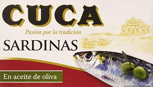 Cuca Sardinas en Aceite de Oliva,...