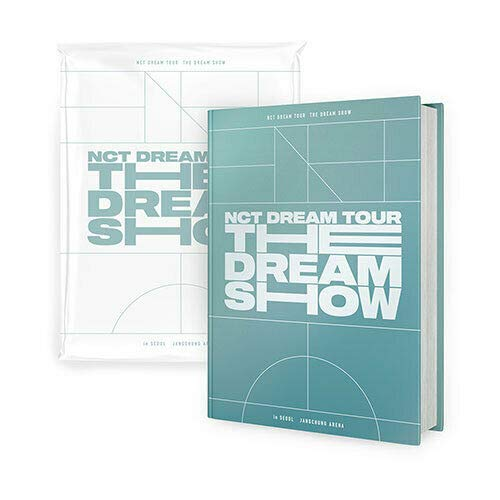 NCT DREAM TOUR [THE DREAM SHOW] Photo Book & Live Album 2CD+184p Photo Book+28p Lyric Book+1p Photo Card+TRACKING CODE K-POP SEALED