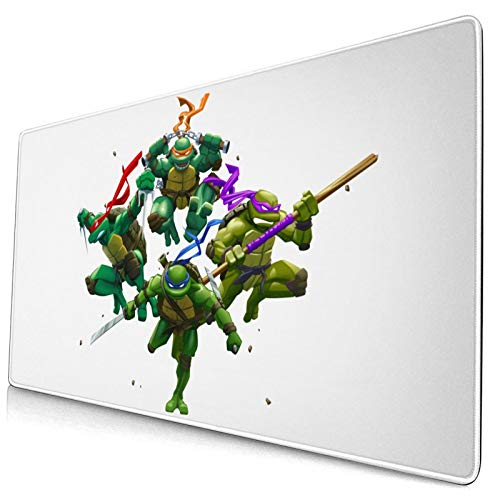 Mouse Pad Teenage Mutant Movie Ninja Turtles Large Gaming Mousepad Extended Desk Mat Ultra Thick Mousepad for Office Gamer Home 29.5'X15.8'