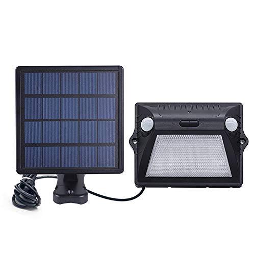Solarleuchte für Außen,Solarlampe IP65 Solarleuchte Garten mit Bewegungsmelder Sicherheitswandleuchte Split Solar Induktions-Straßenleuchte Buntes Außen Garten Landschaft Wasserdichte Wandleuchte
