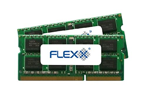 FLEXX, ram Memory 8GB kit (2 x 4GB), DDR3 PC3-8500, 1067MHz, 204 PIN SODIMM for Late 2008/2009 and Mid 2010 Macbook's