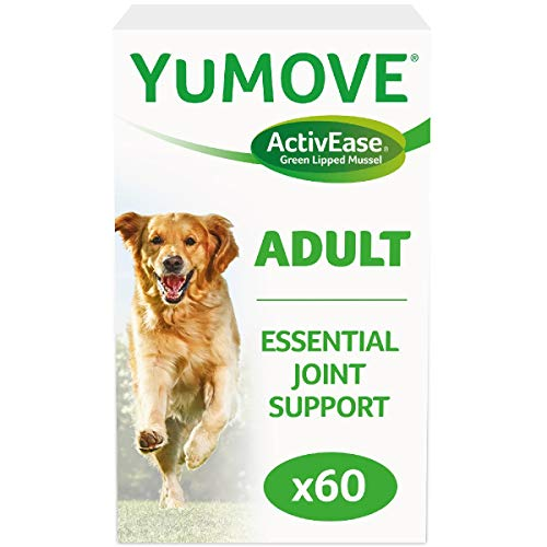 Lintbells | YuMOVE Dog | Essential Hip and Joint Supplement for Stiff Dogs Aged 7 to 8 | 60 Tablets