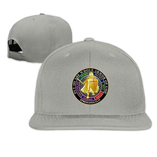 Eileen Powell Setzen Sie die ganze Rüstung Gottes auf Unisex Adult Hats Classic Baseball Caps Sporthut Peaked Cap