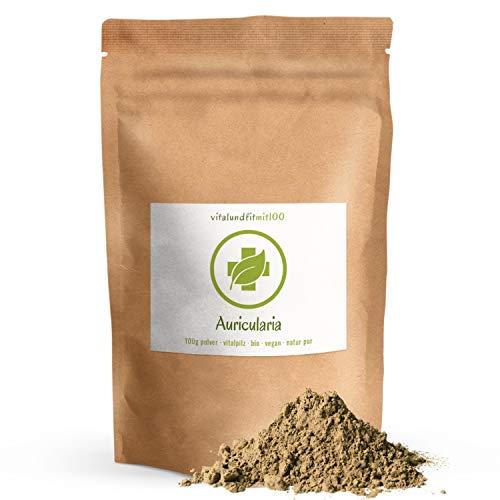Bio Auricularia Pulver - 100 g - Auricularia judae - als