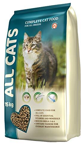All Cats Dänisches Premium Katzenfutter trocken Großpackung XXL Sack 15kg Aller Petfood Dänemark